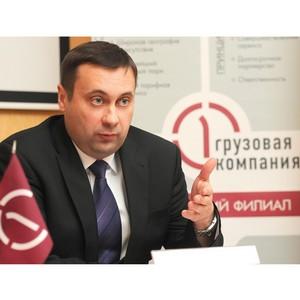 Евгений Долженко: «ПГК сократила время простоя вагонов в Омской области на 23%»