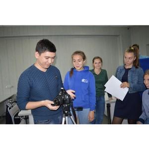 Студенты Рубцовского института (филиала) АлтГУ изучали хитрости создания современного медиа-контента