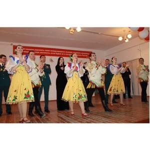 Активисты ОНФ в КБР организовали концерт военного ансамбля для кадетов