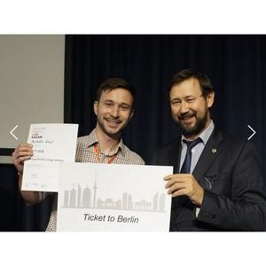 Ученый ИФМиБ КФУ представит Россию на международной молодежной конференции Falling Walls