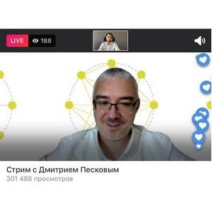 Дмитрий Песков: Сильные идеи переворачивают мир вокруг