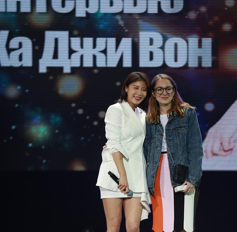 Актриса Ха Джи Вон