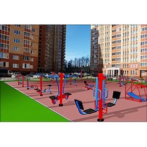 «Жилищный капитал» финансирует строительство спортивной площадки