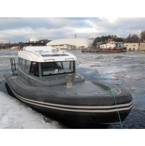 Ходовые испытания катера БЛ-860К