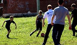 Удмуртэнерго вместе с бойцами студотряда провели урок в Понинском детском доме