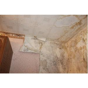 ОНФ помогает ветерану из Воронежа добиться ремонта залитой квартиры