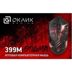 Oklick 399M Stigma: мышь «с огоньком» для начинающих геймеров