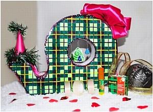 Как подарить близким праздник при помощи клейкой ленты?