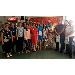 Семинар «Безопасность пищевой продукции» прошел на Волжском филиале АО «САН ИнБев»