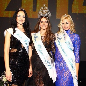 Побелительница Всероссийского Конкурса красоты «Мисс Офис-2014»