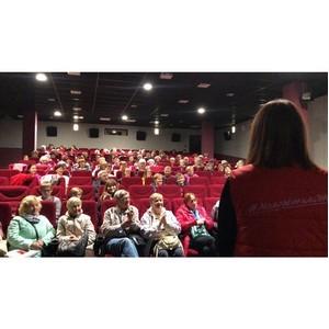 Команда «Молодежки ОНФ» организовала благотворительный кинопоказ для ветеранов Петрозаводска