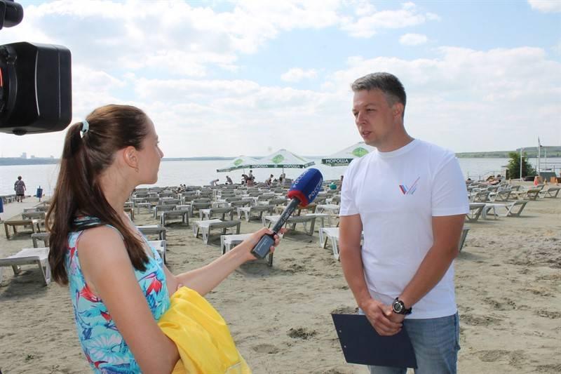 Челябинские активисты ОНФ запустили мониторинг состояния пляжей в регионе