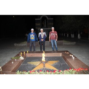 Активисты ОНФ в Карачаево-Черкесии приняли участие в мероприятиях ко Дню памяти и скорби