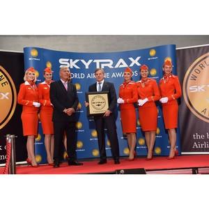 «Аэрофлот» вошел в десятку лучших авиакомпаний мира