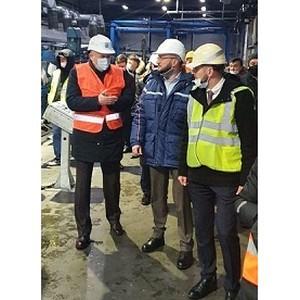 Завод Kingspan посетил Губернатор Ленинградской области  Дрозденко