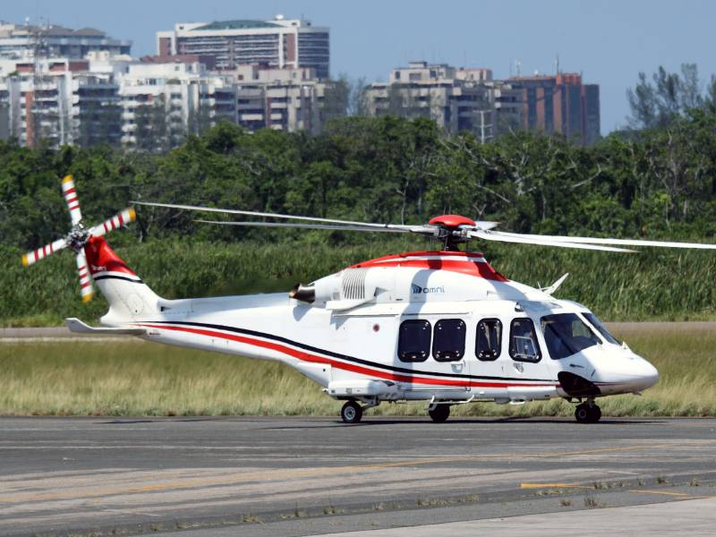 Компания «Вертолетные Технологии» предлагает выполнение чартерных рейсов на AgustaWestland AW139