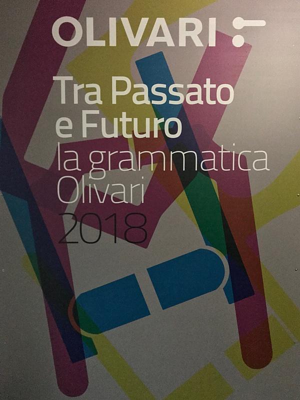 Афиша презентации нового каталога Olivari.
