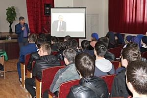 Активисты Народного фронта в Чечне рассказали студентам о проекте ОНФ «Генеральная уборка»
