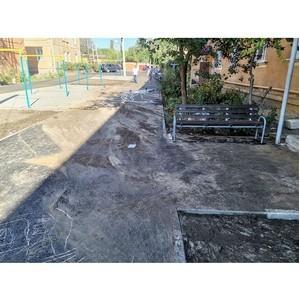 ОНФ сообщили властям о низком качестве ремонта дворов в Семилуках