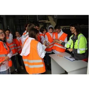 Будущие экологи познакомились с практикой экоответственного производства на заводе Балтика-Самара