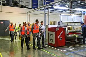 Заместитель председателя Правительства Московской области посетил завод компании 3М в Волоколамске