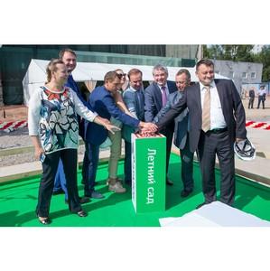 В ЖК «Летний Сад» залили «первый бетон»
