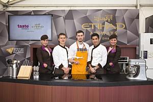 Российский шеф-повар Виталий Тихонов выступит на Taste of Abu Dhabi 2016