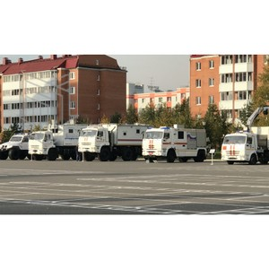 Спецтехника МПЗ на службе МЧС России