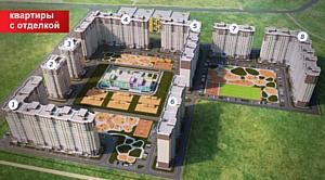 «Азбука Жилья» приступила к реализации квартир в ЖК «Квартал 2»