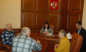 Состоялся приём граждан в Приёмной Президента