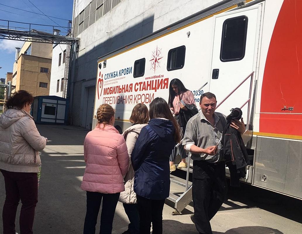 Донорский день в АО «Уралтрансмаш»