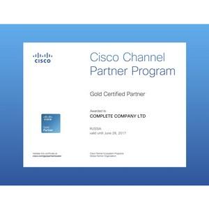 Комплит получил наивысший статус Cisco Gold Certified Partner