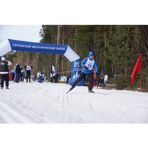 Лыжная гонка среди работников АО