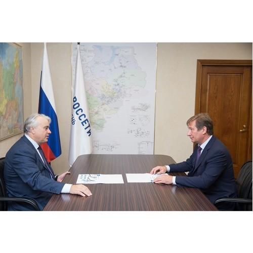 Павел Завальный встретился с генеральным директором «Россети Тюмень»