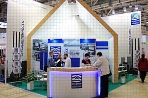 На водном форуме ЭКВАТЭК 2016 наша компания построила эксклюзивный выставочный стенд КФ Центр