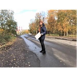 В Петрозаводске отремонтировали отмеченные на карте проекта ОНФ дороги