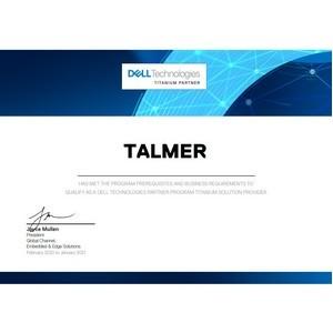 Талмер стал титановым партнёром Dell Technologies
