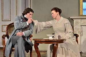 Премьера спектакля «Свадьба Кречинского» на сцене Дворца Белосельских-Белозерских.