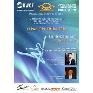 IV Международный юношеский конкурс-фестиваль классического танца «Гран-При Киев» 2018