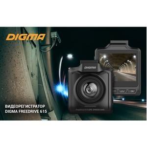 Новый видеорегистратор Digma FreeDrive 615 GPS SpeedCams