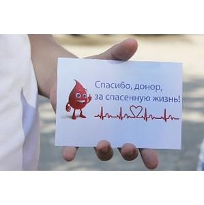 «Швабе» развивает программу добровольного донорства крови