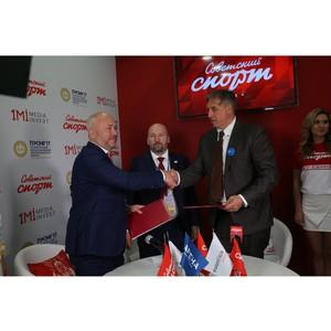 Легендарный футболист Диего Марадона оценил масштабы работ по реконструкции стадиона «Динамо»