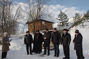 Чувашская энергосбытовая компания реконструировала родник в Высоковке