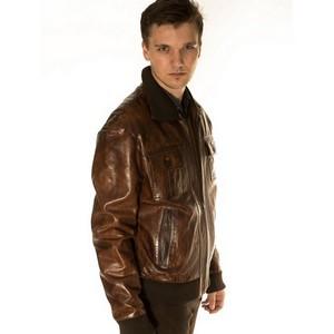 Весна 2018 - классические кожаные куртки Giorini милитари
