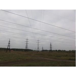Проведена замена грозотроса на ЛЭП 220 кВ в Челябинской области