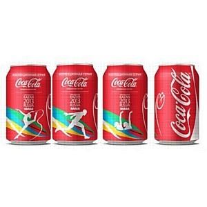 Coca-Cola представила коллекционные банки с символикой Универсиады