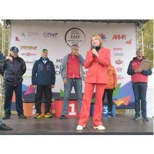 В Москве прошел этап Международного кубка по скандинавской ходьбе