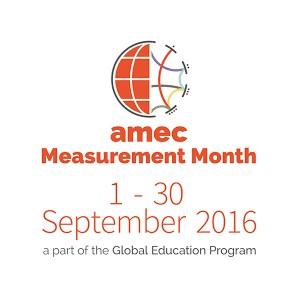 AMEC Measurement Month 2016: вебинары по PR и медиааналитике от ведущих коммуникационных агентств
