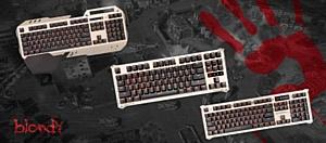 A4Tech представляет новые игровые механические клавиатуры Bloody с технологией LK Light Strike