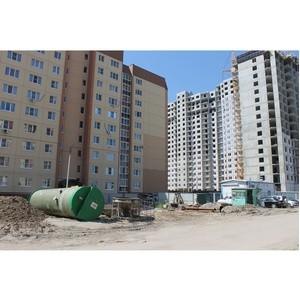 ОНФ просит проверить строительство КНС в ЖК «Лазурный» в Воронеже